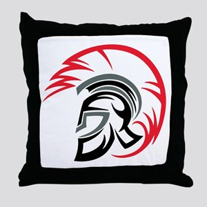 Roman Warrior Helmet Throw Pillow